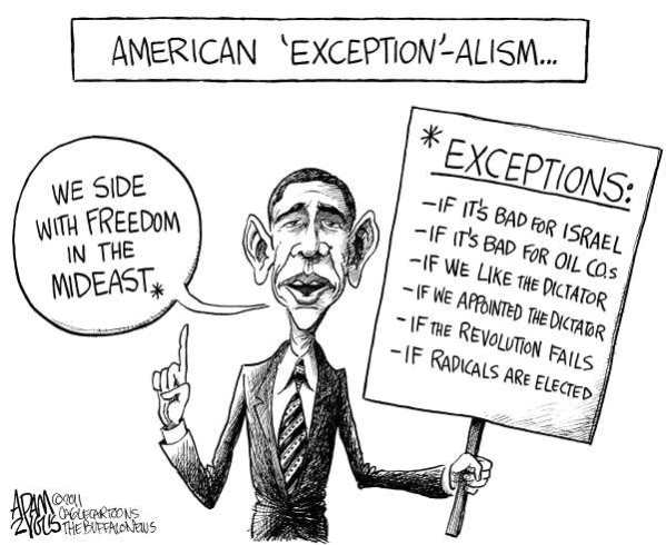 Obama American Middle East Exception-alism