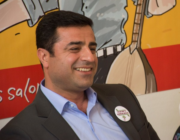Selahattin Demirtaş, co-chair of the HDP. © Nick Ashdown